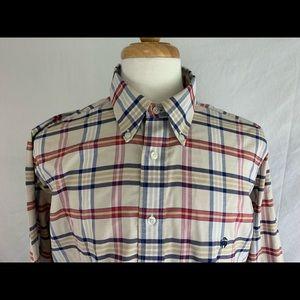 Brooks Brothers Regent Shirt Size L Button Front
